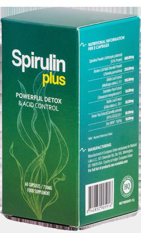 Spirulin Plus- Efektywny detoks bez uciążliwych głodówek? Skuteczne odkwaszanie organizmu bez katorżniczych wyrzeczeń? Tak, to możliwe!