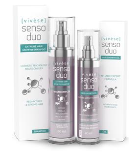 Vivese Senso Duo Shampoo – Osłabione włosy? Pragniesz środka, który zlikwiduje tenże kłopot i poprawi stan Twoich włosów raz na zawsze? To znalazłaś!
