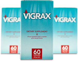 Vigrax – Pastylki na potencję umożliwiające dłuższe radowanie się seksem!